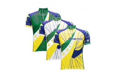 Camisa Ciclista Star Brasil - Refactor