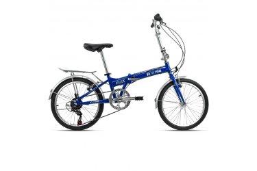 Bicicleta Dobrável 6V Flex Azul - Krooma