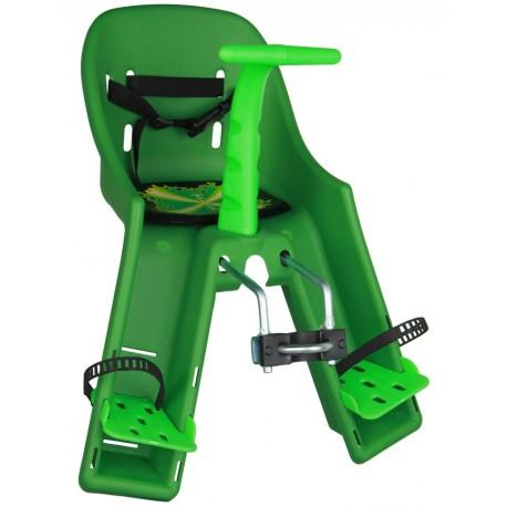 Cadeirinha para bicicleta dianteira Kalf Baby Bike X-10 verde