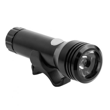 Farol a Pilha com LED Cree Recarregável USB JY-7012F - Jing YI