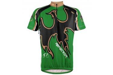 Camisa Ciclista Fênix Verde - Refactor