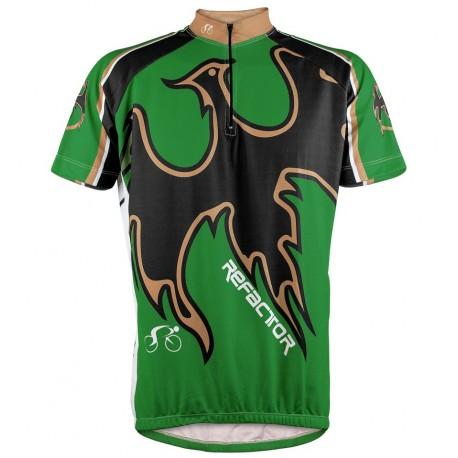 Camisa Ciclista Fênix Laranja - Refactor