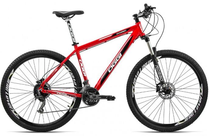 "Bicicleta 29"" Champion Deore 30v Freio Disco Hidráulico BC - Oggi"
