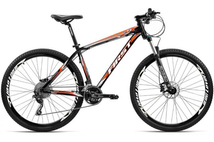 Bicicleta 29 Deore 30v Freio Disco Hidráulico First TRX