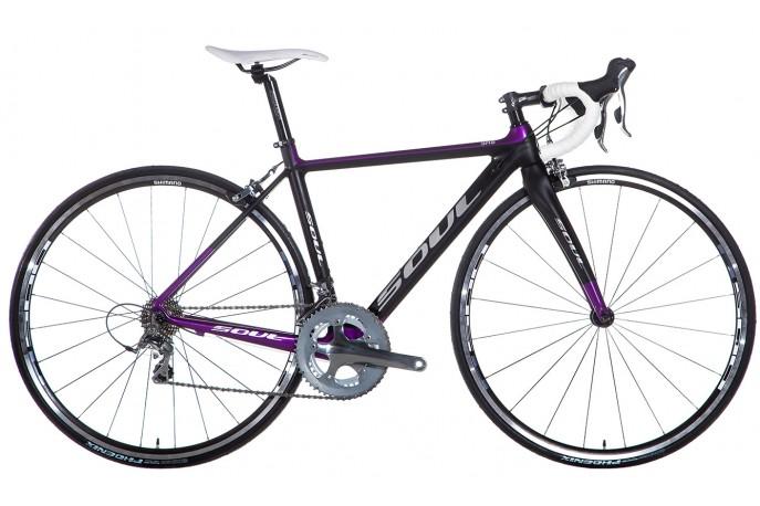 Bicicleta 700 3R2F Cabon 20V - Soul