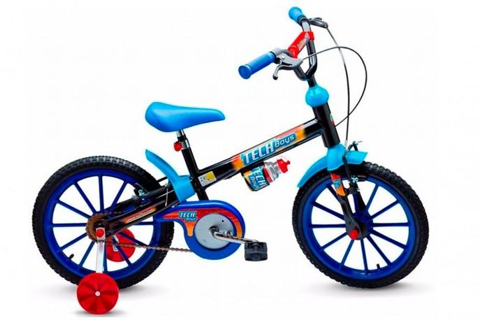 Bicicleta 16 Masculina Tech Boys - Nathor