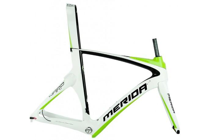 Quadro Triathlon Time Warp Carbono - Merida