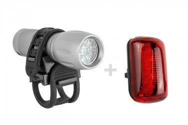 Kit Farol + Vista Light 9 LEDs Alumínio SG