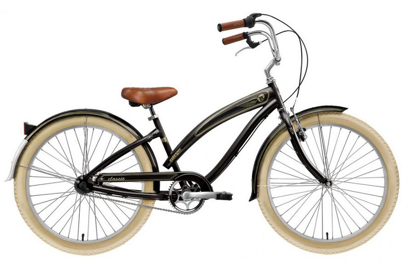 Bicicleta cruiser feminina classic 3 marchas nexus nirve for Classic 3