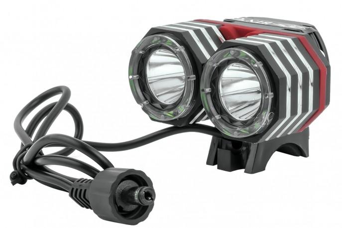 Farol a Pilha Recarregável Duplo CREE LED 1800 Lúmens GB-725 - Bing's