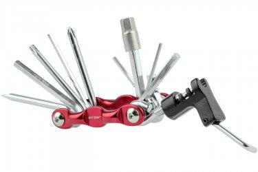 Kit Ferramentas Canivete 12 funções com Extrator de Corrente Alumínio - TSW