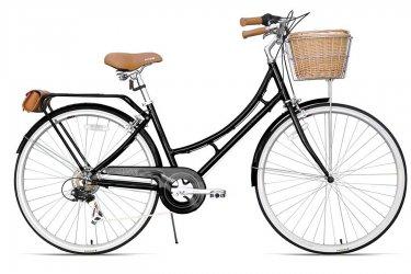Bicicleta 700 Nadine Gloss Black 7v - XDS