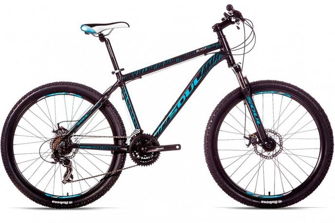 Bicicleta 26 Blackrain Disc 21V - Soul