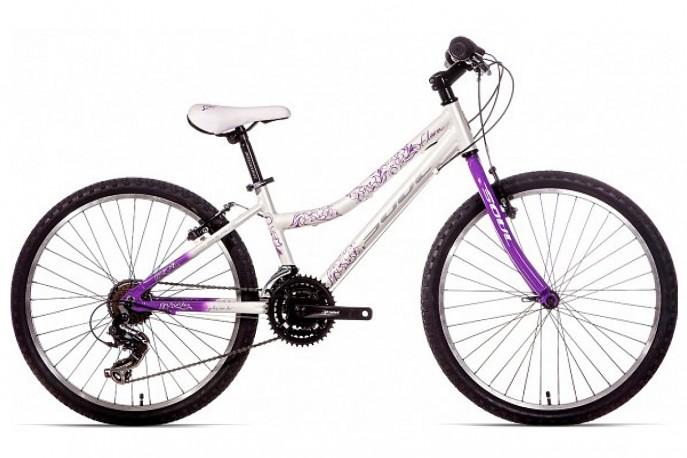 Bicicleta 24 Feminina Flora 21V - Soul
