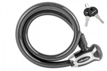 Cadeado bike com Chave 15x800 Espiral - Elleven