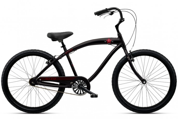 Bicicleta Cruiser Red Star mono Nirve