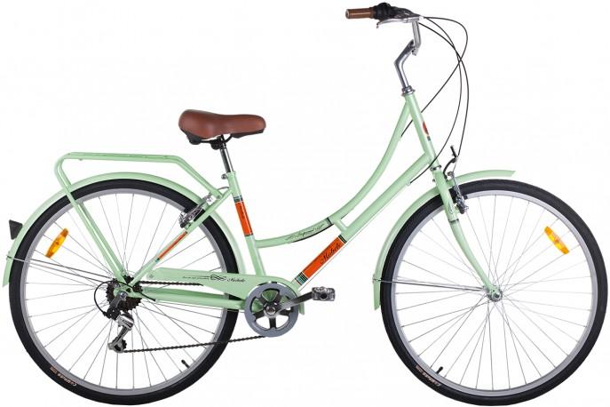 Bicicleta 700 Imperial 7V Com Bagageiro (Preta) - Mobele