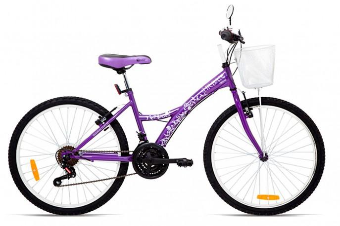 Bicicleta 24 Feminina Uban Teen Roxa - Tito