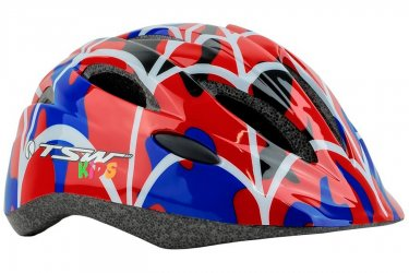 Capacete Ciclista Infantil MTB KIDS New Y-01 Vermelho - TSW