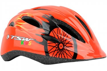 Capacete Ciclista Infantil MTB KIDS New Y-01 Laranja - TSW