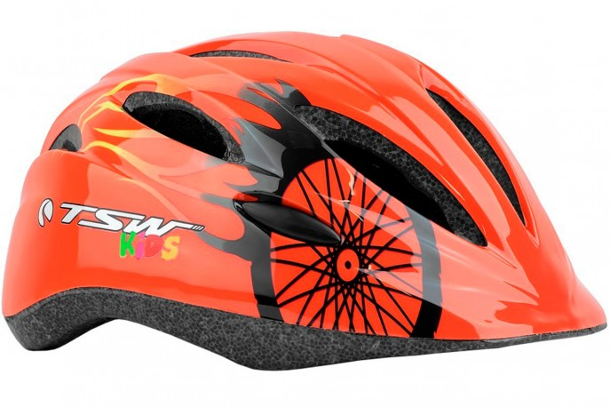 Capacete Ciclista Infantil MTB KIDS New Y-01 B/R - TSW