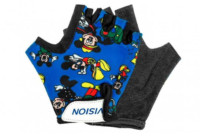 Luva Ciclista Infantil Aberta Mickey - Vision