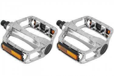 Pedal 1/2 Plataforma Alumínio Polido