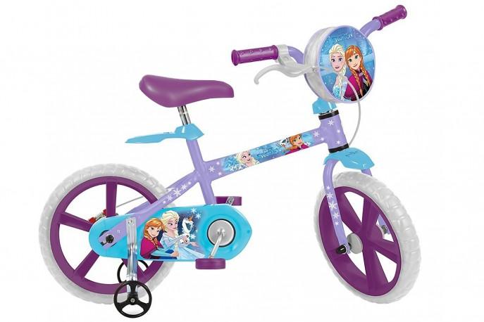 Bicicleta 14 Infantil Frozen - Bandeirante
