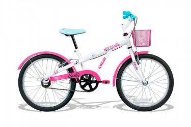 Bicicleta 20 Feminina Barbie Pérola - Caloi