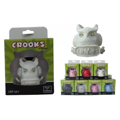 Led de Silicone Coruja Crooks