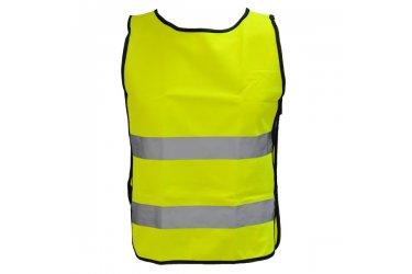 Colete refletivo amarelo para ciclistas M-Wave