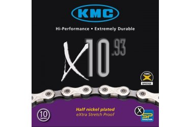 Corrente Bicicleta X10 Kmc
