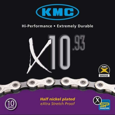 Corrente Bicicleta X 10 Kmc