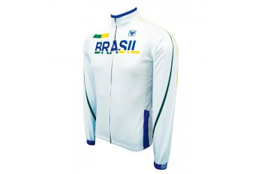 Camisa Ciclista Brasil Light Manga Longa - Free Force