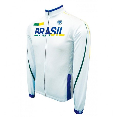 Camisa Cicilsta Brasil Light Manga Longa - Free Force