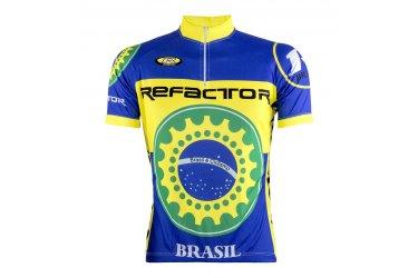 Camisa Ciclista Catraca Brasil - Refactor