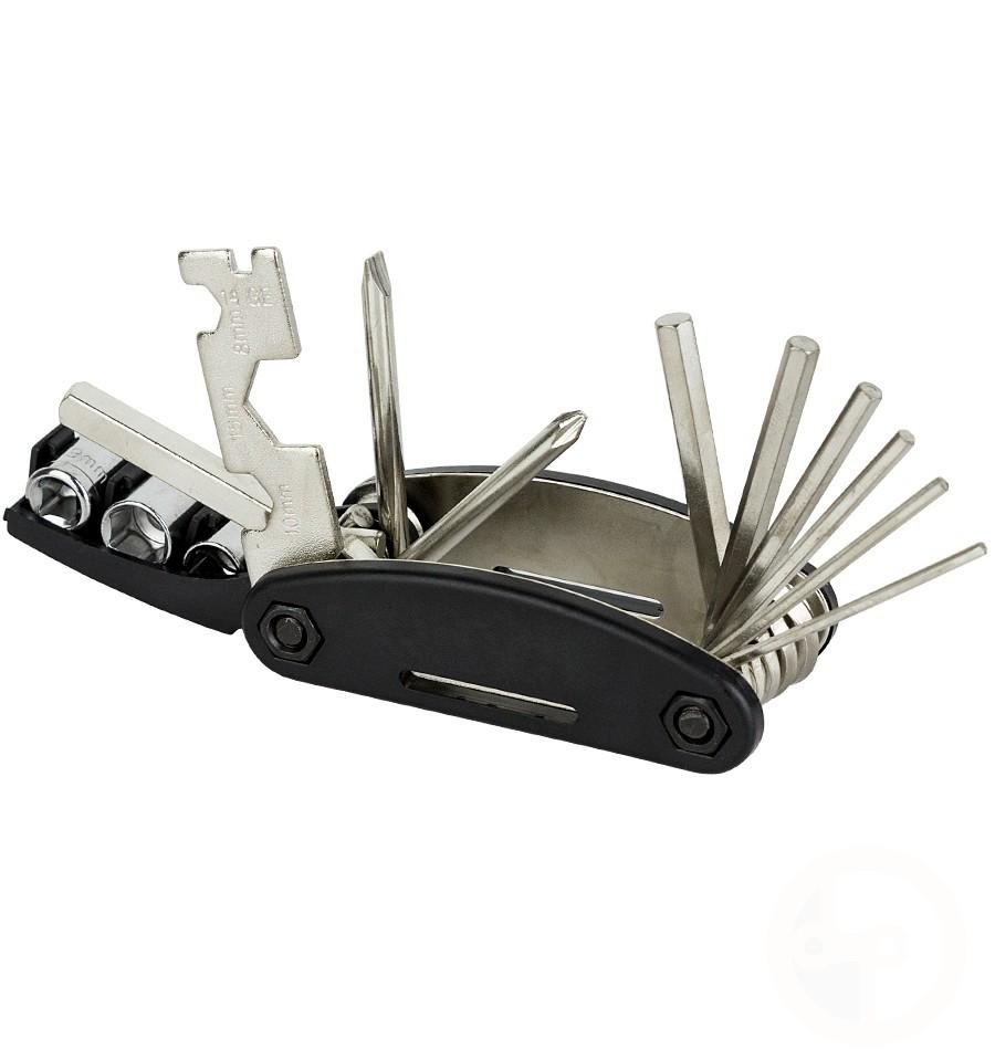 Kit Ferramentas Bike Canivete 16 Funções