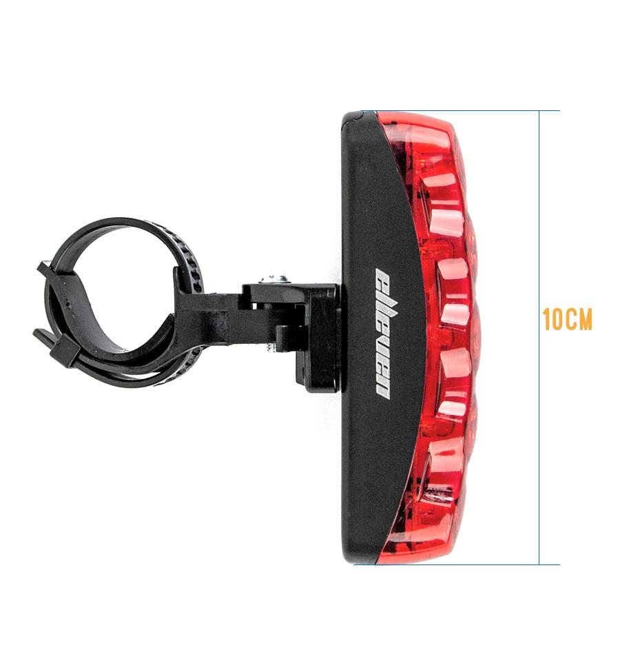 Vista Light Traseiro com 5 LEDs e 3 Funções - Elleven