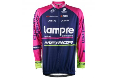 Camisa Ciclista Lampre Manga Longa - Refactor