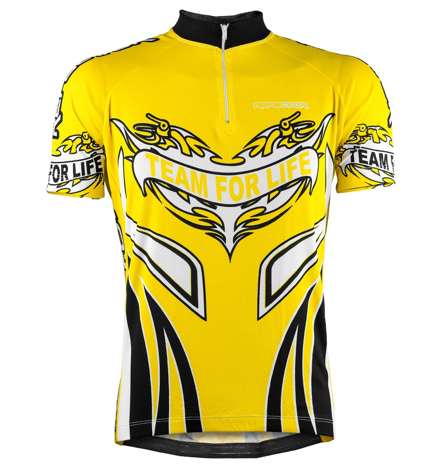 Camisa Ciclista Team For Life - Refactor