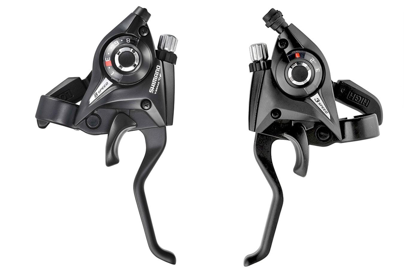 Alavanca de Cambio Shimano Altus/Acera 24V ST-EF51
