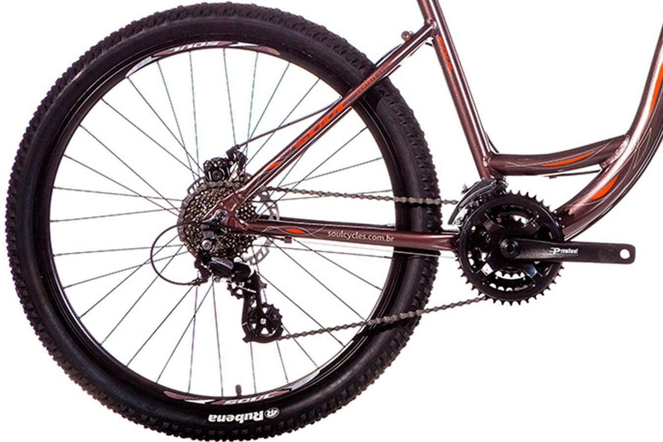 Bicicleta 26 Flow Disc 24V - Soul
