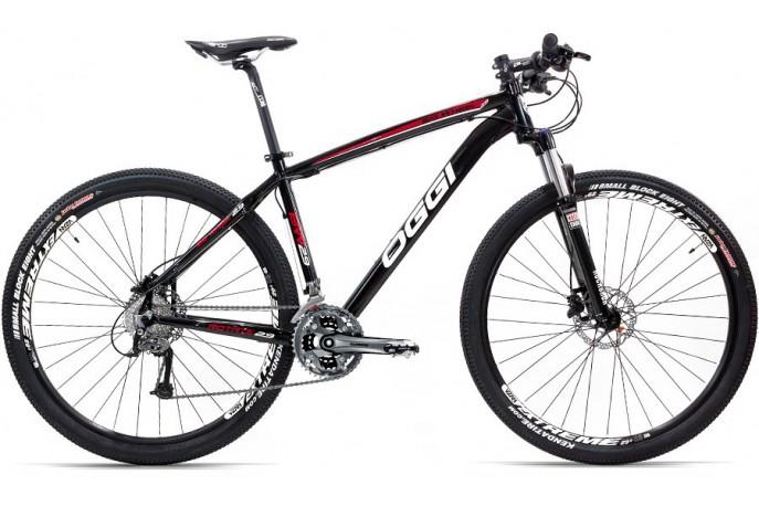 Bicicleta OGGI 29 7.2 BW Alumínio 27v Freio Hidráulico M395