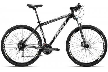 Bicicleta 29 Acera 27v Freio Disco Hidráulico First FX