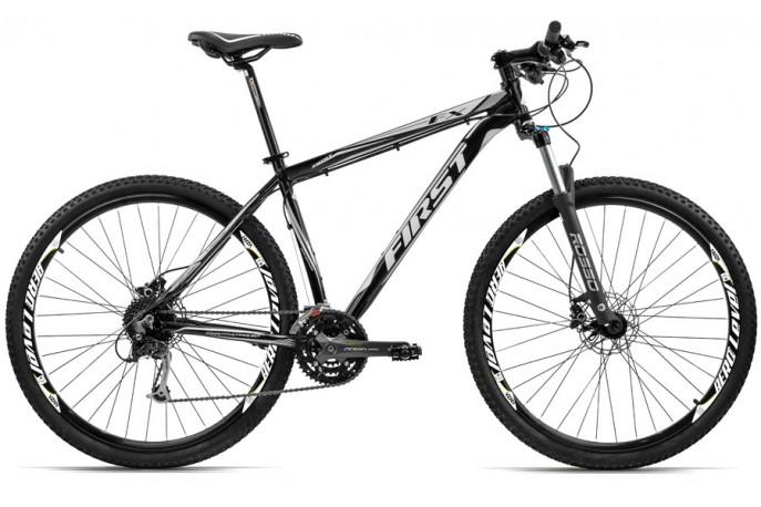 Bicicleta 29 Acera 27v Freio Disco Hidráulico First FX LS