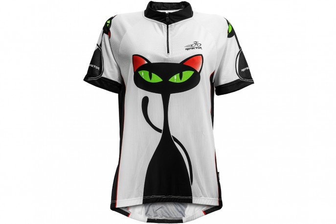 Camisa Ciclista Feminina Gata - Refactor