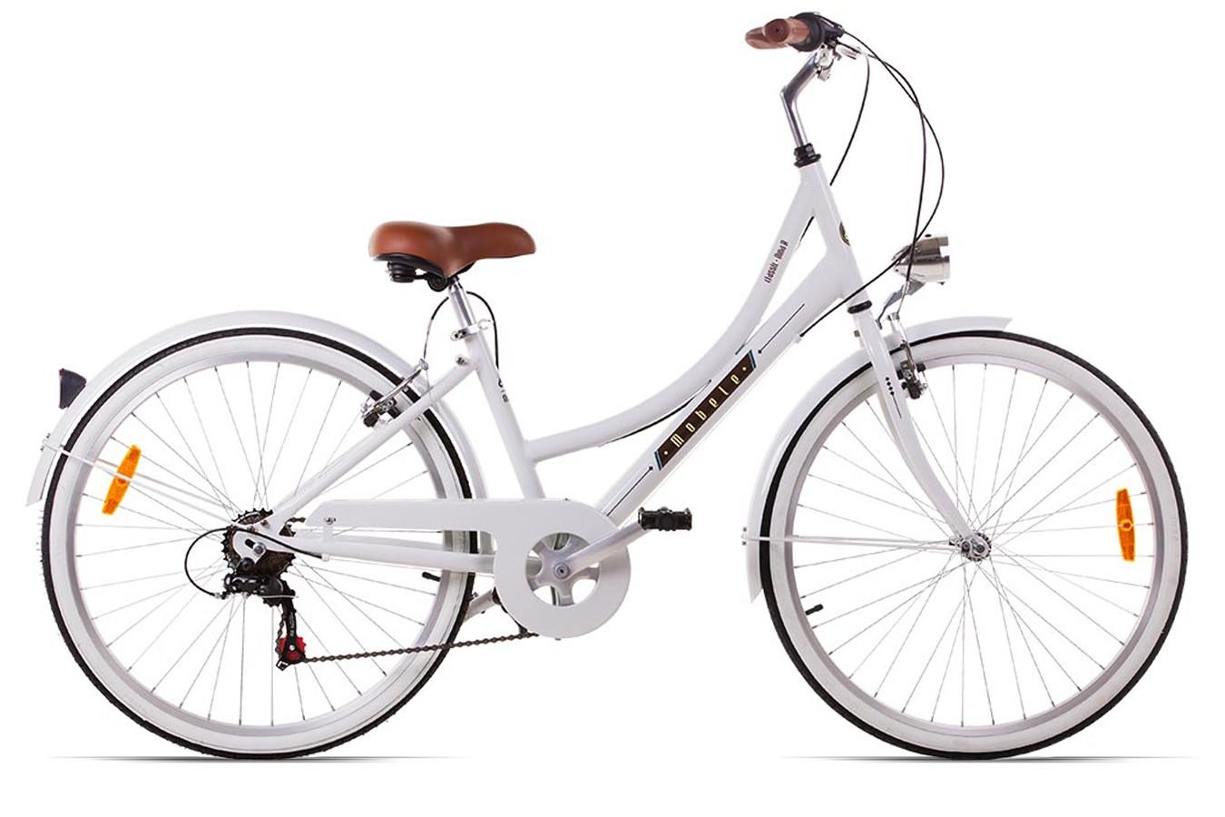 Bicicleta Mobele Oma A 7V Branca 2016