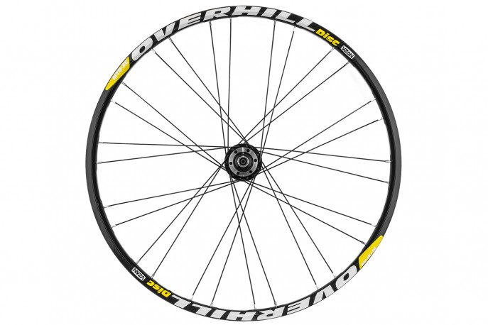 Roda montada Over Hill Disc 28/28f - Vzan