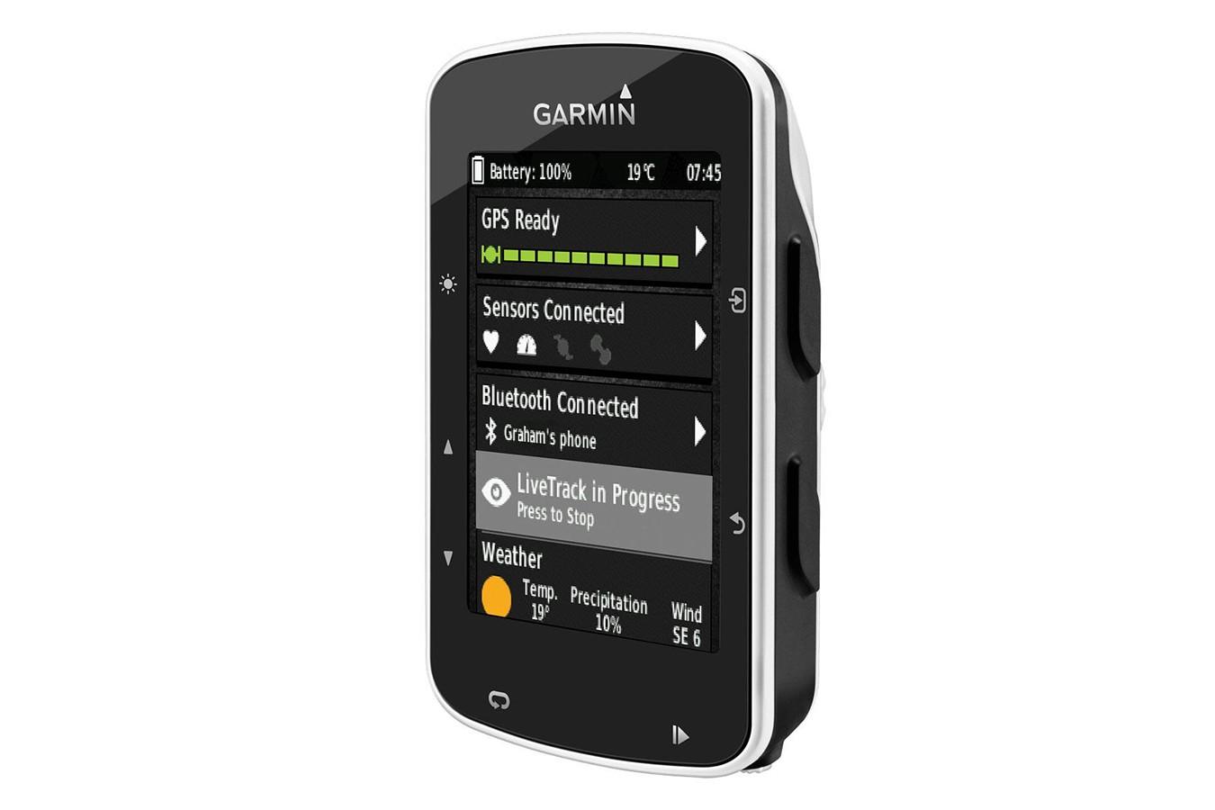 Ciclocomputador com GPS EDGE 520 Bundle - Garmin