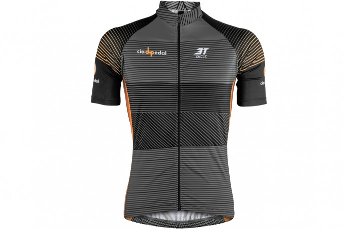 Camisa Ciclista Customizada Cia do Pedal - 3T